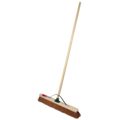 ProDec Coco Sweeping Broom 600mm (24'') Complete