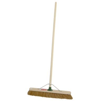 ProDec Stiff Sweeping Broom 450mm (18'') Complete