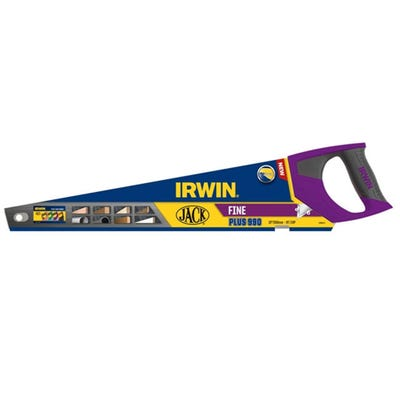 Irwin Jack 990 Fine Handsaw Purple Handle 22''
