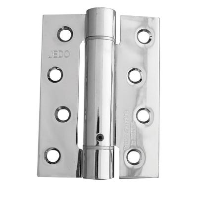 Self-Closing Spring Hinge Fire Tested 102mm Polished Chrome Pack of 3