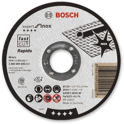 Bosch Inox Cutting Disc Metal 115 x 1.0 x 22.2mm