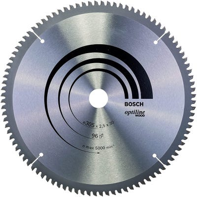 Bosch Circular Saw Blade Optiline Wood 305 x 2.5 x 30mm 96T