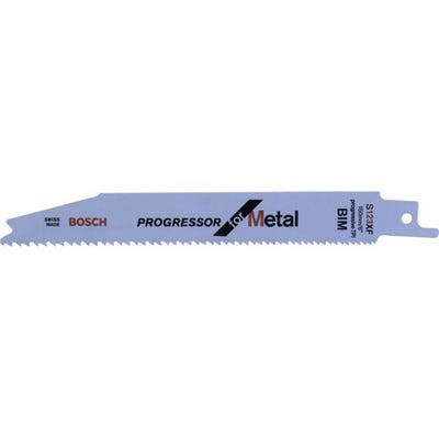 Bosch 150mm Reciprocating Saw Blades Progressor For Metal Pack of 5 S123XF