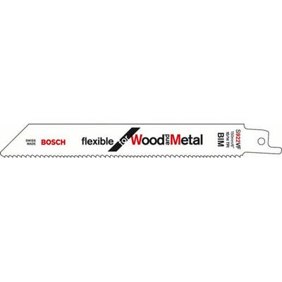 Bosch 150mm Reciprocating Saw Blades For Wood & Metal Pack of 5 S922VF