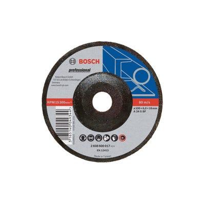 Bosch Cutting Disc Metal Grinding 100 x 16 x 6mm