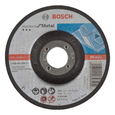 Bosch LPP Metal Cutting Disc 115 x 2.5 x 22.23mm D