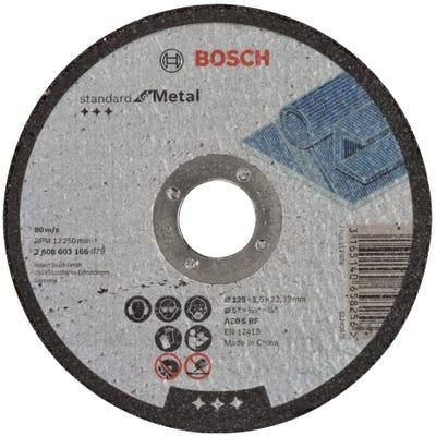 Bosch LPP Metal Cutting Disc 125 x 2.5 x 22.23mm S