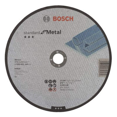 Bosch LPP Metal Cutting Disc 230 x 3.0 x 22.23mm S