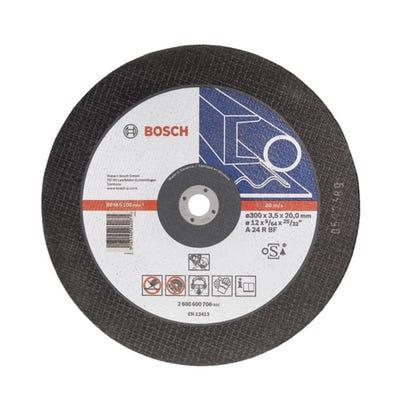 Bosch Cutting Disc Metal Flat 300 x 3.5 x 20mm