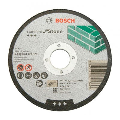 Bosch LPP Stone Cutting Disc 115 x 2.5 x 22.23mm S