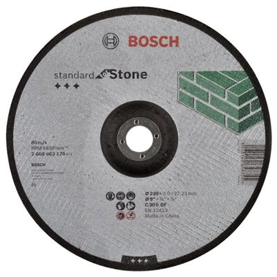 Bosch LPP Stone Cutting Disc 230 x 3.0 x 22.23mm D
