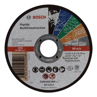 Bosch 115mm Multiconstruction Cutting Disc