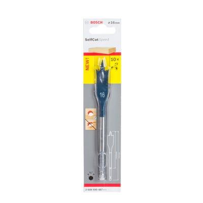 Bosch Flat Drill Bit Selfcut Speed Hex Shank 16 x152mm