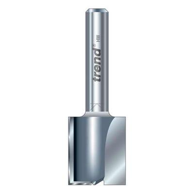 Trend Professional 3/8X1/4TC Two Flute Cutter 12mm Diameter x 19mm Cut