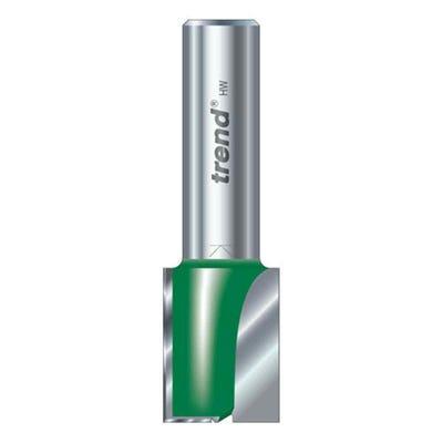 Trend C024AX1/4TC Two Flute Cutter 15mm Diameter x 25mm Cut