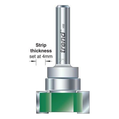 Trend C220X1/4TC Intumescent Cutter Set 15mm x 24mm