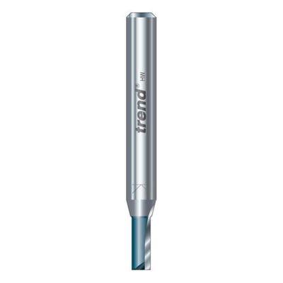 Trend C012AX1/4TC Two Flute Cutter 8mm Diameter x 25mm Cut