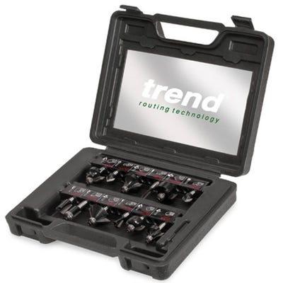 Trend Professional 12 Piece Starter Cutter Set ¼'' Shank