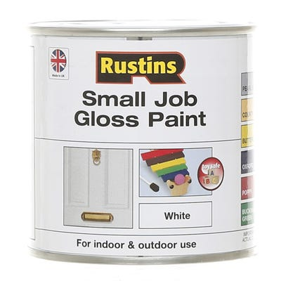 Rustins Quick Dry Small Job Gloss Paint 250ml