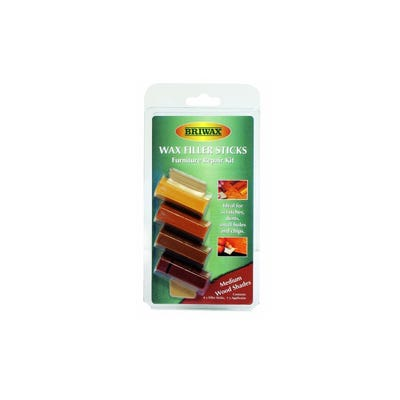 Briwax Wax Filler Sticks Dark Pack of 4