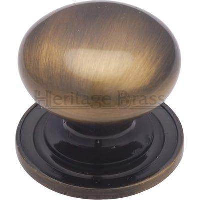 Heritage Brass Cabinet Knob Antique Brass (Each)