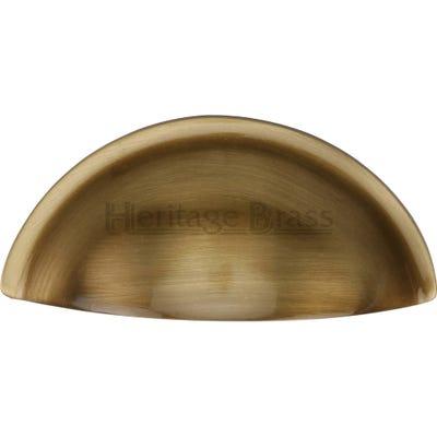 Heritage Brass Drawer Knob 82mm Antique Brass