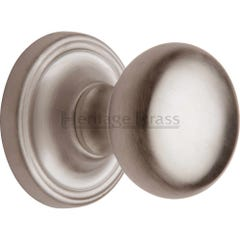 Heritage Brass Hampstead Mortice Knob Satin Nickel