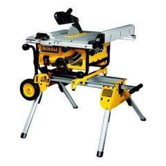 DeWalt DW745RS 240V 410mm Portable Table Saw & Rolling Stand DE7400