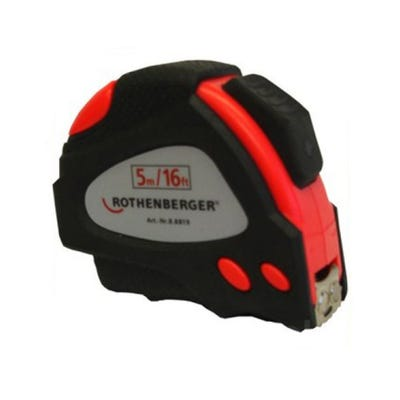 Rothenberger 5m Tape Measure
