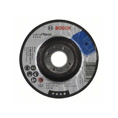 Bosch Metal Grinding Disc 115 x 6.0 x 22.23mm