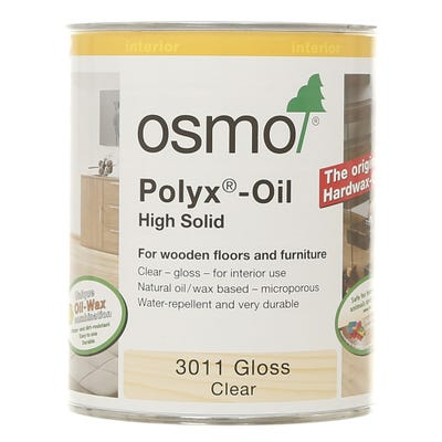 Osmo Polyx Original Hardwax Oil Clear Gloss 750ml