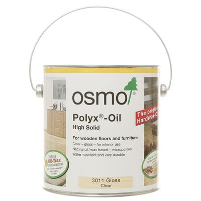 Osmo Polyx Original Hardwax Oil Clear Gloss 2.5L