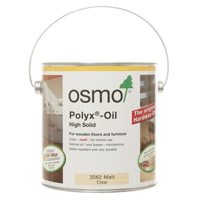 Osmo Polyx Original Hardwax Oil Clear Matt 2.5L