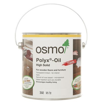 Osmo Polyx Hardwax Oil Tint White 2.5L