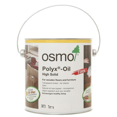 Osmo Polyx Hardwax Oil Tint Terra 2.5L