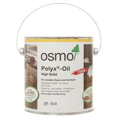 Osmo Polyx Hardwax Oil Tint Black 2.5L