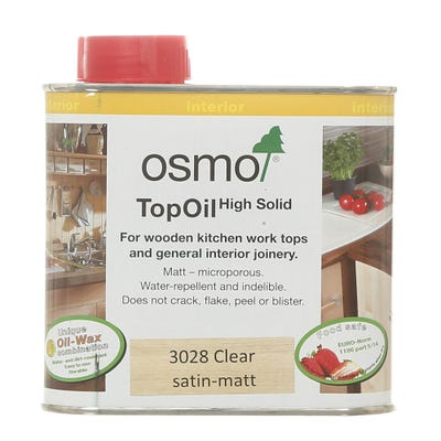 Osmo Top Oil Clear Satin 500ml
