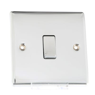BG Nexus 10A 10AX Intermediate Light Switch Polished Chrome NPC13-01