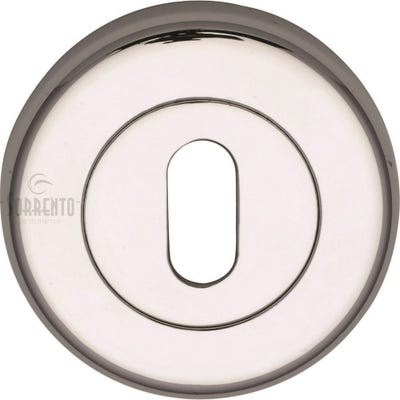 Sorrento Keyhole Escutcheon Polished Chrome (Each)