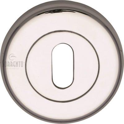 Sorrento Keyhole Escutcheon Polished Chrome (Each)