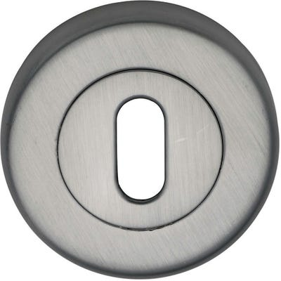 Sorrento Keyhole Escutcheon Satin Chrome (Each)