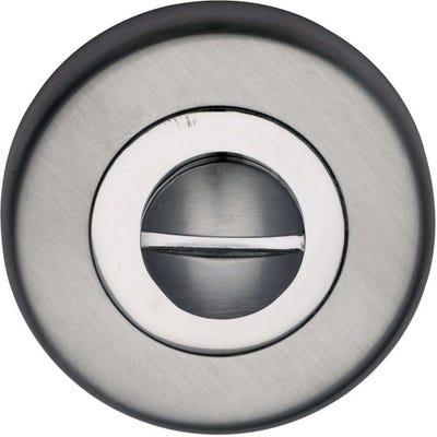 Sorrento Bathroom Turn & Release Satin & Polished Chrome