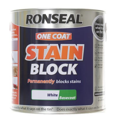 Ronseal One Coat Stain Block White
