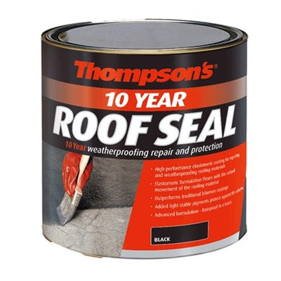 Thompson's 10 Year Roof Seal Black 1L