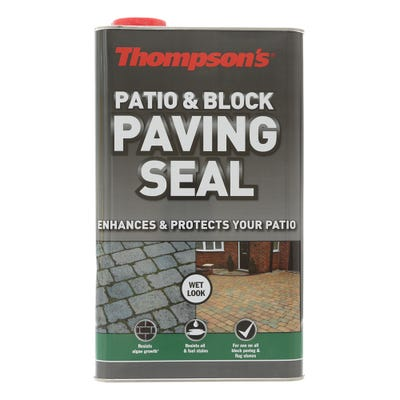 Thompson's Patio & Block Paving Seal Wet Look 5L