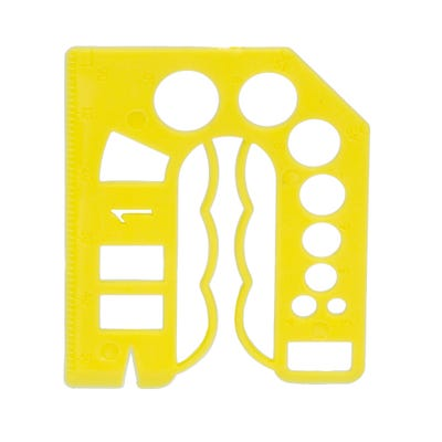 Speed Pro 1mm Yellow Packing Shim Pack Of 20