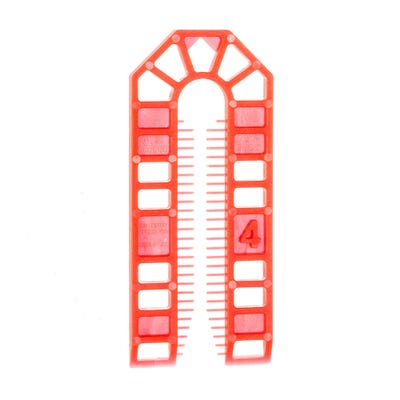 Speed Pro 4mm Red Frame Packers Pack Of 10