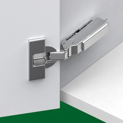 Grass Overlay Clip-on Hinge 110° Screw Fixing