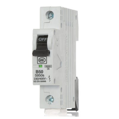 MK Sentry 50A MCB Single Pole (Type B) 5950S