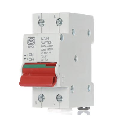 MK Sentry 100A Switch Disconnector